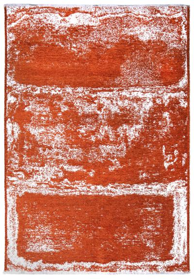 MORETTİ DUO ÇİFT TARAFLI HALI 11707-N TURUNCU-BEYAZ