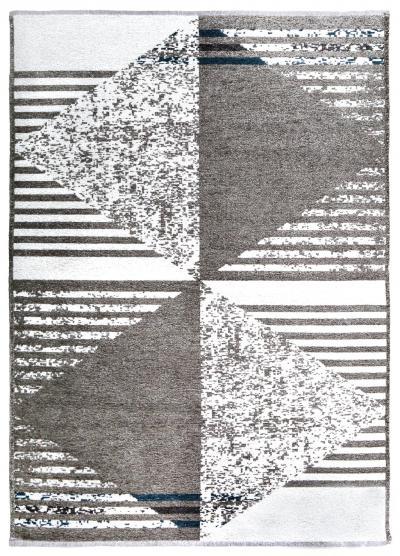 MORETTİ DUO ÇİFT TARAFLI HALI 11731-J GRİ-MAVİ