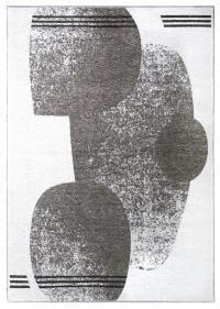 MORETTİ DUO ÇİFT TARAFLI HALI 11733-A AÇIK GRİ-KOYU GRİ