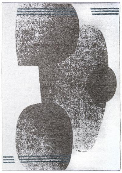 MORETTİ DUO ÇİFT TARAFLI HALI 11733-J GRİ-MAVİ