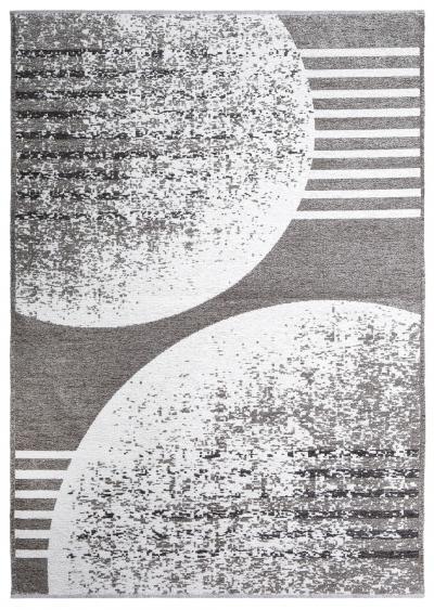 MORETTİ DUO ÇİFT TARAFLI HALI 11734-A AÇIK GRİ-KOYU GRİ